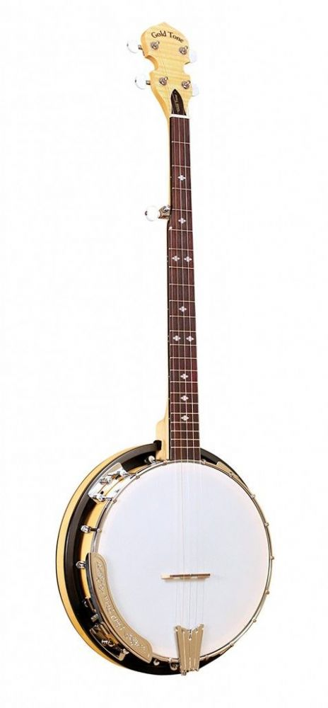 Gold Tone CC-100RW 5-string Cripple Creek resonator banjo with wide fingerboard